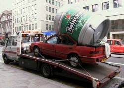 Funny photos - It is just the Heineken
