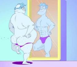 Funny photos - Magical mirror