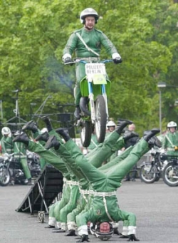 Funny photos - Berlin police