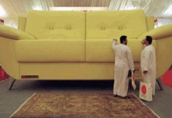 Funny photos - The biggest sofa