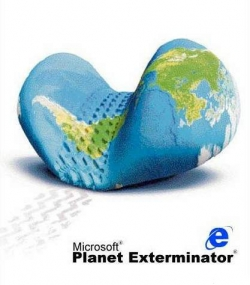 Funny photos - Microsoft planet exterminator