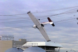 Funny photos - The plane were stuck