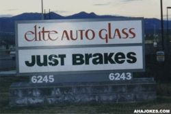 Funny photos - Elite auto glass