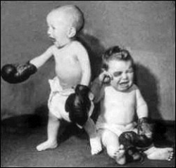 Baby pictures - Boxing