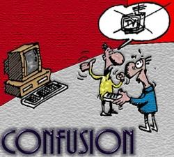 Funny photos - Confusion