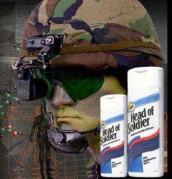 Funny photos - Head of soldier