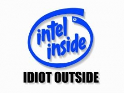 Funny photos - Intel inside