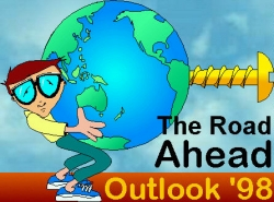 Funny photos - The road ahead outlook '98