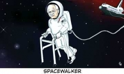 Funny photos - Space walker