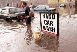 Funny photos - Hand car wash