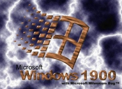 Funny photos - Microsoft window 1900