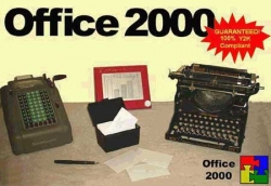 Funny photos - Office 2000