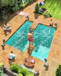 Funny photos - 3D pool