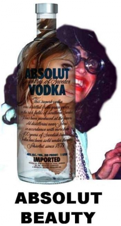 Funny photos - Absolut beauty
