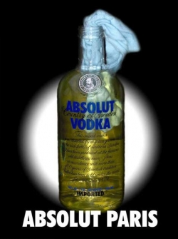 Funny photos - Absolut Paris
