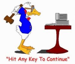 Funny photos - Hit any key to continue