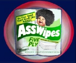 Funny photos - Ass wipes