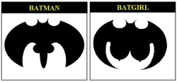 Funny photos - Batman and bat girl