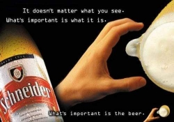 Funny photos - Beer illusion