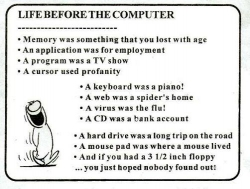 Funny photos - Before the computer