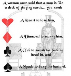 Funny photos - Deck of playing card