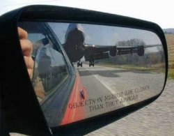 Funny photos - Objects in mirror