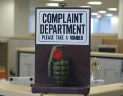 Funny photos - Complaints department
