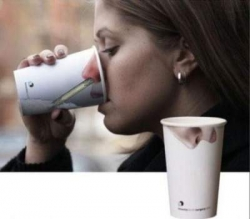 Funny photos - How a cool cup