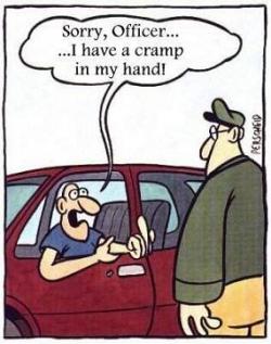 Funny photos - Cramp