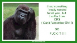 Funny photos - I suffer from CRS