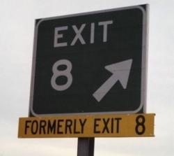 Funny photos - Exit 8