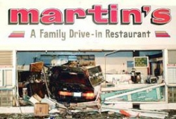 Funny photos - Drive in restaurant