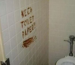 Funny photos - Need toilet paper