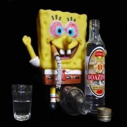 Funny photos - Drinking problem