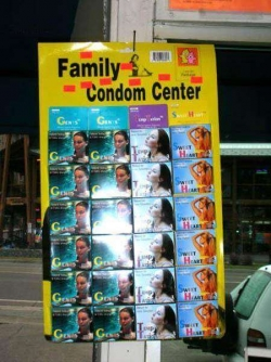 Funny photos - Condom center