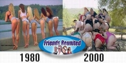 Funny photos - Friends reunion