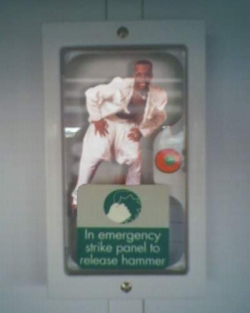 Funny photos - In emergency