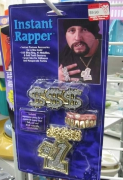 Funny photos - Instant rapper