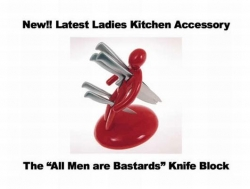 Funny photos - Knife block