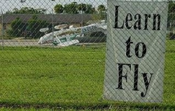 Funny photos - They should learn to fly