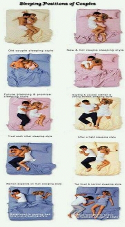 Funny photos - Sleeping position