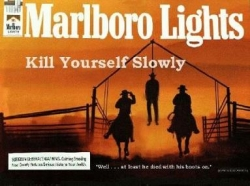 Funny photos - Marlboro lights