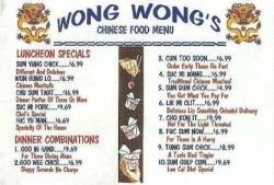 Funny photos - Wong wong's