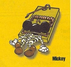 Funny photos - Poor silly Mickey