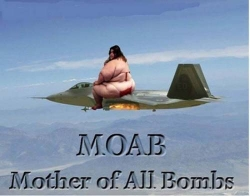 Funny photos - Mother of all bomb