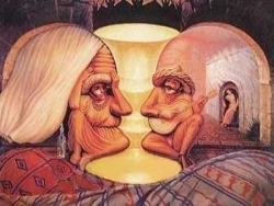 Funny photos - Old couple?