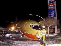 Funny photos - The plane crush