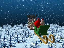 Christmas photos - The North Pole Santa Claus