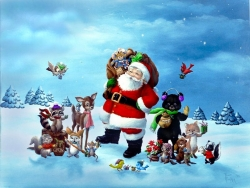 Christmas photos - What Would Christmas Be Without Santa Claus!