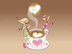 Valentine pictures - Coffee love